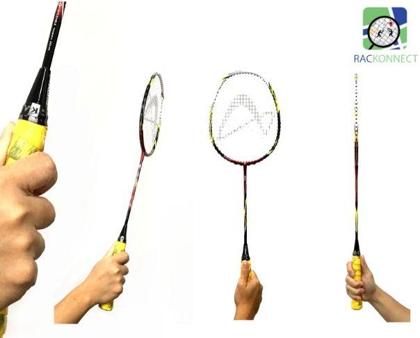 How to grip your Badminton racket?