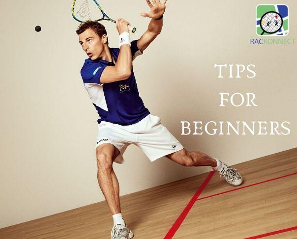 Squash shots for beginners