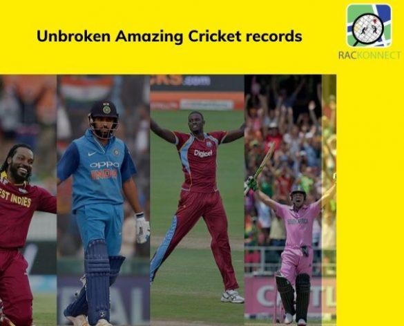 Unbroken amazing Cricket records