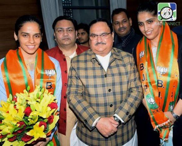 Saina Nehwal joining the BJP