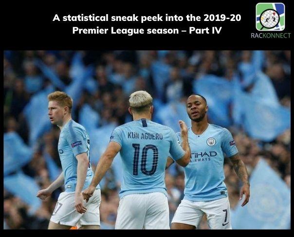A statistical sneak peek into the 2019-20 Premier League season – Part IV