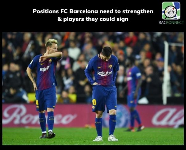 Positions FC Barcelona need to strengthen & players they could sign