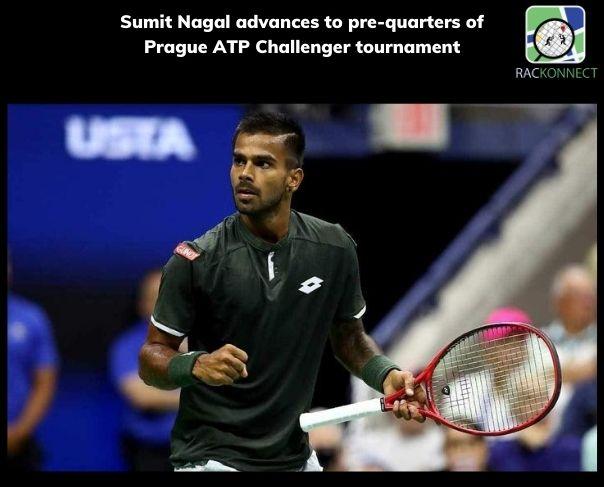 Sumit Nagal advances to pre-quarters of Prague ATP Challenger tournament
